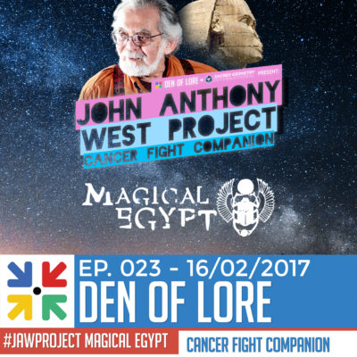 EP. 023 – Magical Egypt Cancer Fight Companion w/ Duncan Trussell, Randall Carlson, and MORE