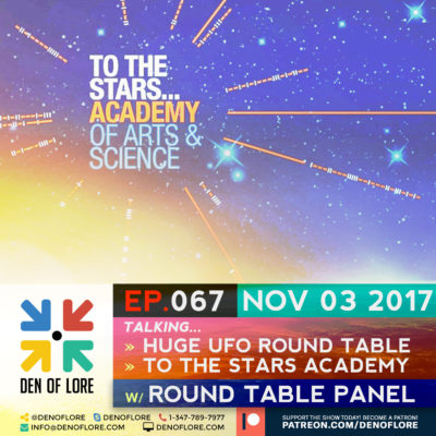 EP. 067 – To The Stars Academy & Tom Delonge Disclosure Round Table