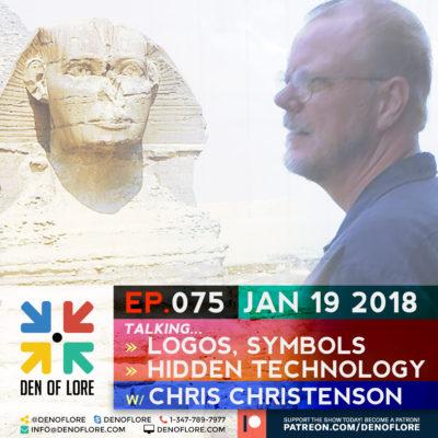 EP. 075 – Logos, Symbols, and Hidden Technology w/ Chris Christenson